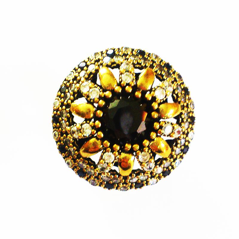 Кольцо с ониксом