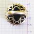 Крупное кольцо с рубином и изумрудом