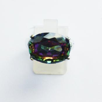 Кольцо с магическим топазом